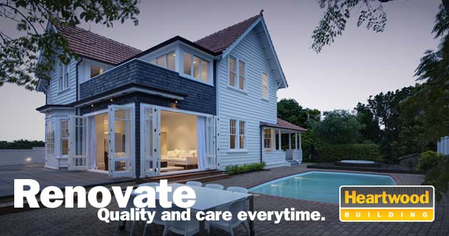 Renovate. Quality and care everytime. Heartwood Building.